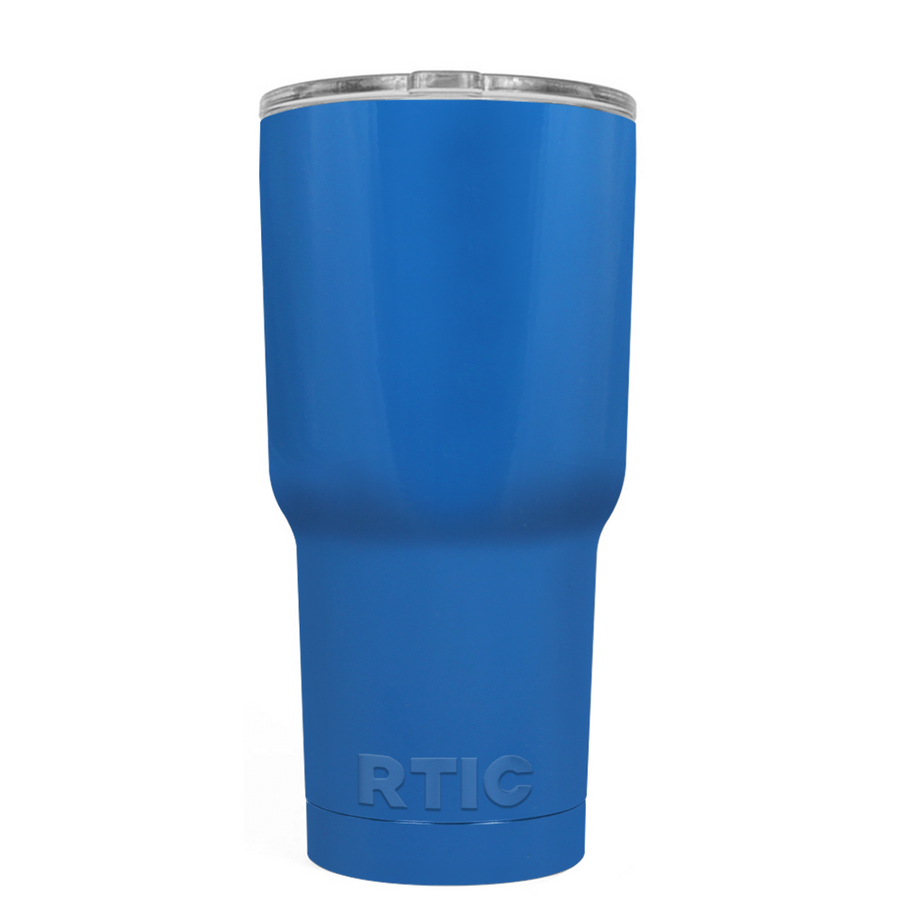 Custom RTIC 20 oz Play Blue Design Your Own Tumbler