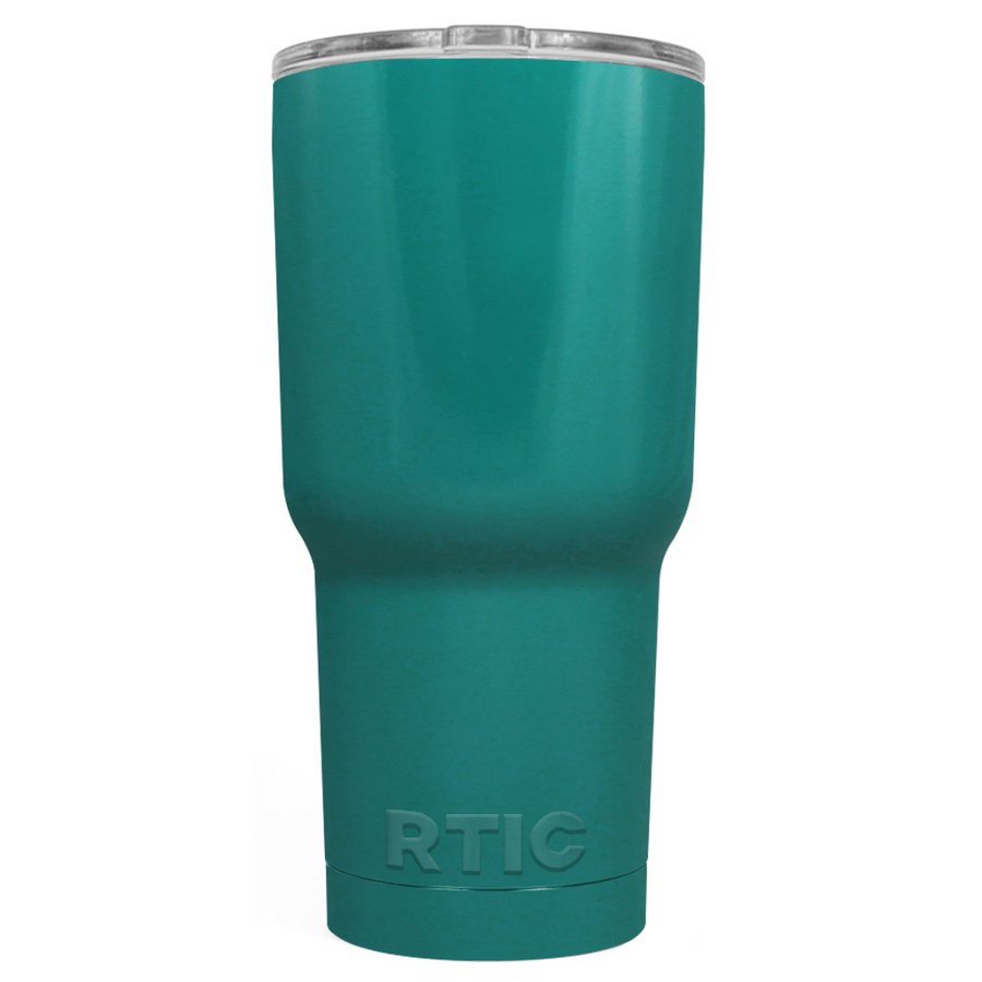 Custom RTIC 30oz Aqua Blue Design Your Own Tumbler