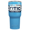 Custom RTIC 30oz Powder Blue Design Your Own Tumbler