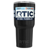 Custom RTIC 30oz Black Gloss Design Your Own Tumbler