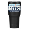 Custom Designed RTIC Black Matte 30 oz Tumbler