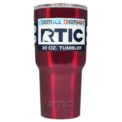 RTIC Red Translucent 30 oz Tumbler