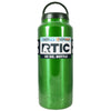 RTIC Green Translucent 36 oz Bottle - TrekTumblers