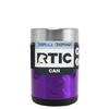 RTIC Purple Translucent Stainless Steel 12 oz Bottle Can Cooler