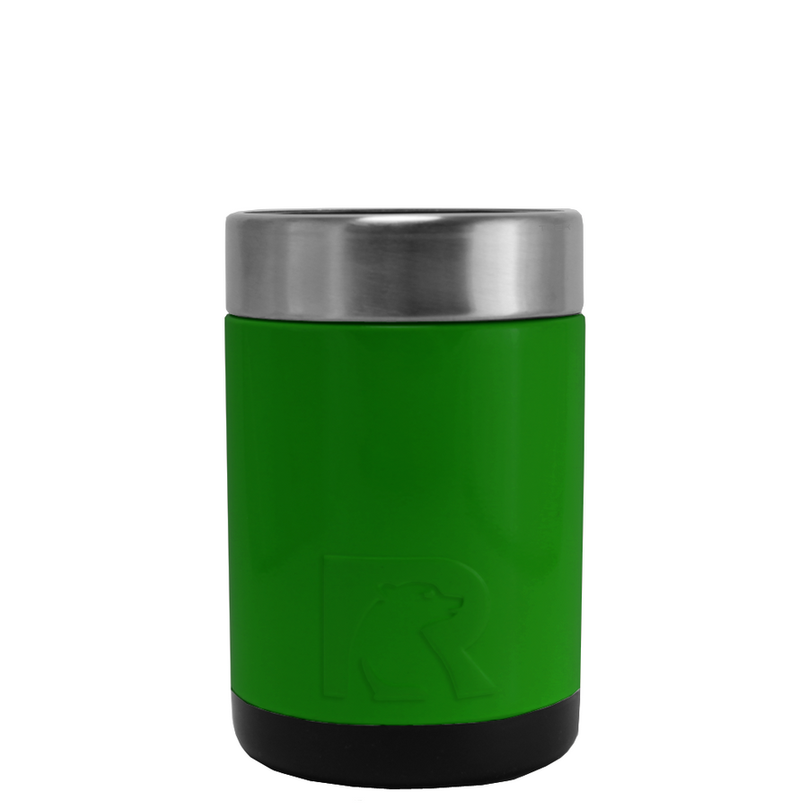 RTIC Tractor Green Stainless Steel 12 oz Bottle Can Cooler