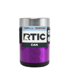 RTIC Violet Translucent Stainless Steel 12 oz Bottle Can Cooler