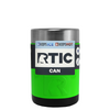 RTIC Neon Green Stainless Steel 12 oz Bottle Can