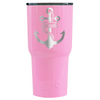 RTIC Anchor Rope Personalized Laser on Pretty Pink 30 oz Tumbler