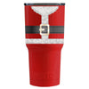 RTIC Santa Suit on Red Gloss 30 oz Tumbler - TrekTumblers