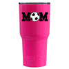 RTIC Soccer Mom on Hot Pink 20 oz Tumbler - TrekTumblers