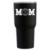 RTIC Volleyball Mom Black Matte 20 oz Tumbler