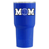RTIC Volleyball Mom Blue Gloss 20 oz Tumbler