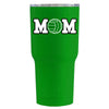 RTIC Volleyball Mom Green Gloss 20 oz Tumbler