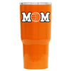 RTIC Volleyball Mom Orange Gloss 20 oz Tumbler