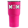 RTIC Volleyball Mom Pink Gloss 20 oz Tumbler