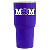 RTIC Volleyball Mom Purple Gloss 20 oz Tumbler