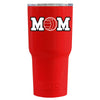 RTIC Volleyball Mom Red Gloss 20 oz Tumbler