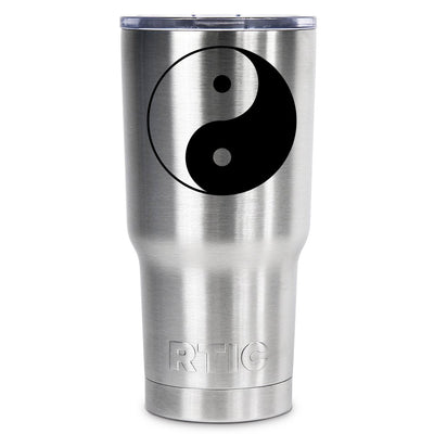 RTIC Ying and Yang Silhouette Personalized 20 oz Tumbler