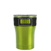 SIC Candy Apple Green Translucent 12 oz. Tumbler