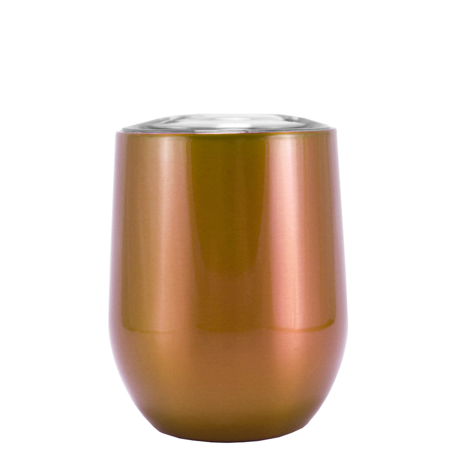 SWIG Copper Translucent 12 oz Stemless Wine Tumbler