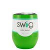 SWIG Green Gloss 12 oz Stemless Wine Tumbler