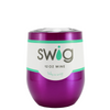 SWIG Raspberry Translucent 12 oz Stemless Wine Tumbler