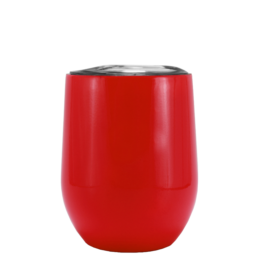 SWIG Red Gloss 12 oz Stemless Wine Tumbler