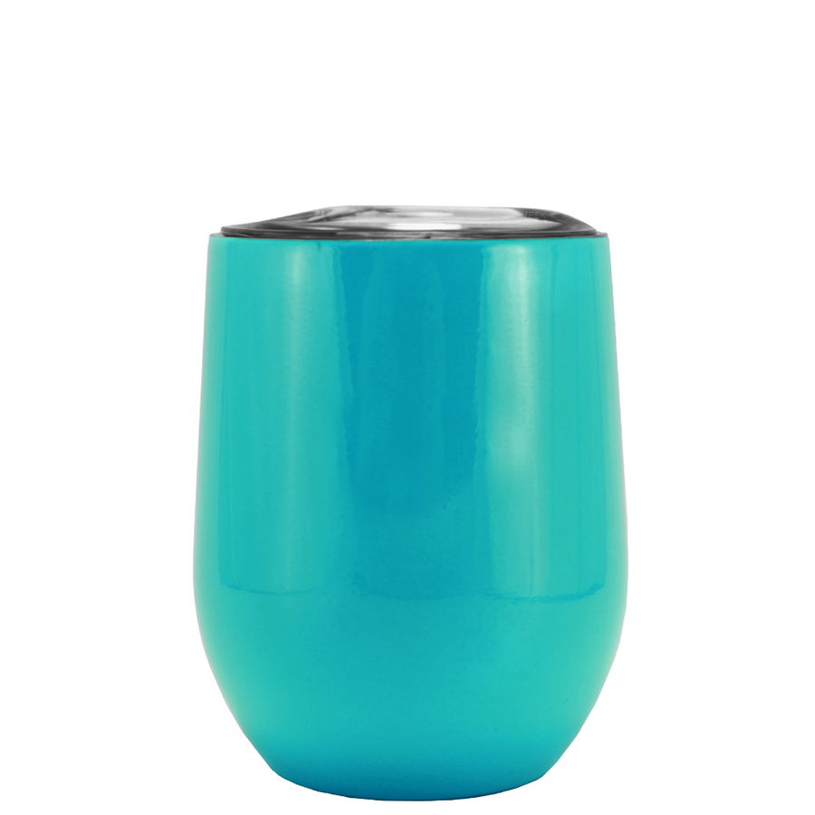 SWIG Seafoam Green 12 oz Stemless Wine Tumbler