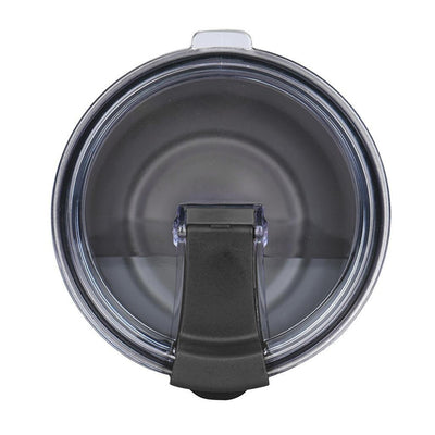 Spill Resistant Black Closable Lid for 30 oz Tumblers