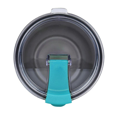 Spill Resistant Blue Closable Lid for 30 oz Tumblers