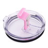 Spill Resistant Pink Closable Lid for 20 oz Tumblers