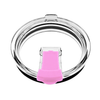 Spill Resistant Pink Closable Lid for 30 oz Tumblers