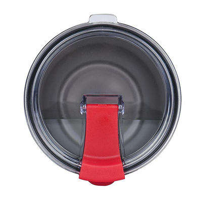 Spill Resistant Red Closable Lid for 30 oz Tumblers
