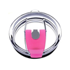 Straw Friendly Spill Proof Pink Lid for 30 oz Tumblers
