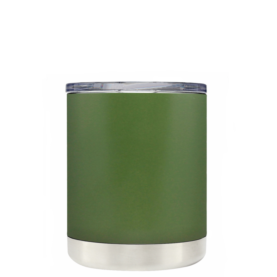 TREK Army Green 10 oz Lowball Tumbler
