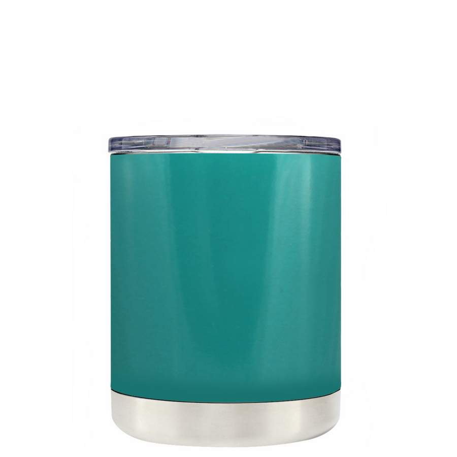 TREK Aqua Blue 10 oz Lowball Tumbler