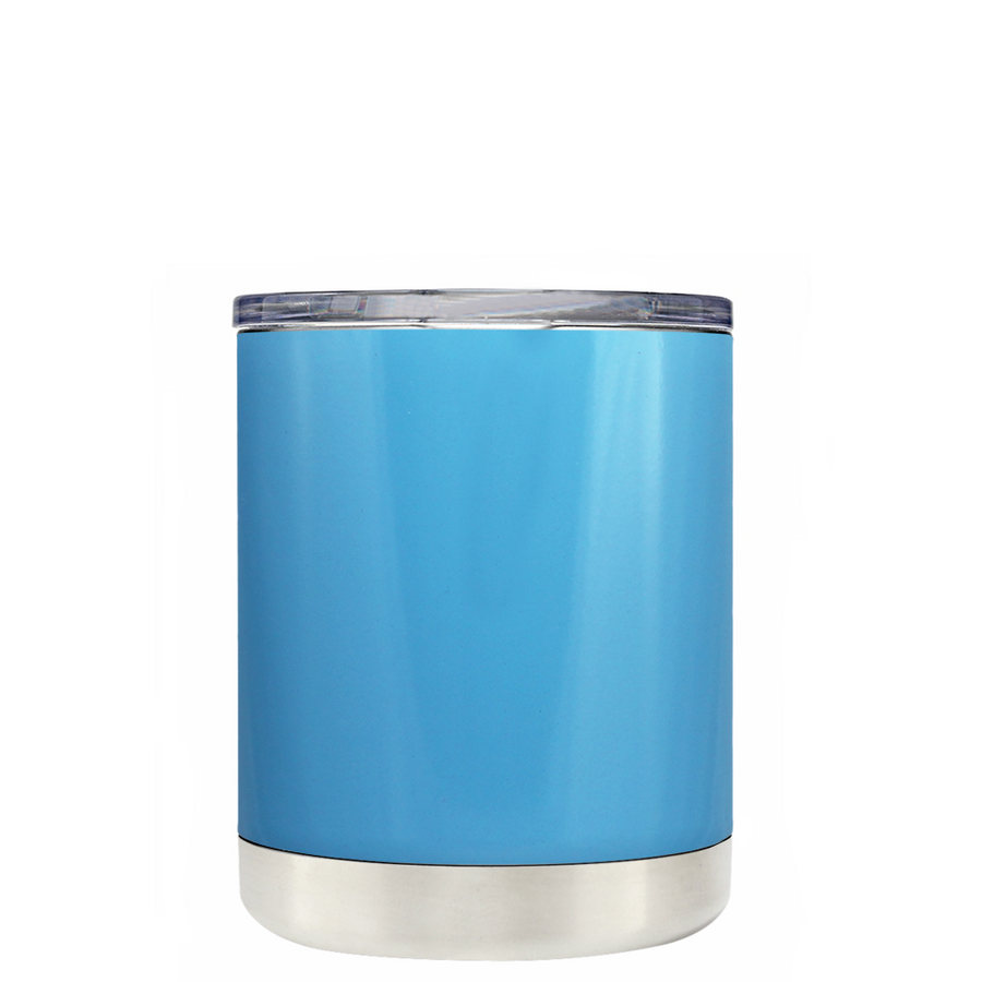 TREK Baby Blue 10 oz Lowball Tumbler