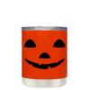 Jack o Lantern on Orange 10 oz Lowball Halloween Tumbler