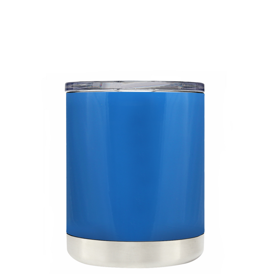 Custom TREK Play Blue 10 oz Design Your Own Tumbler