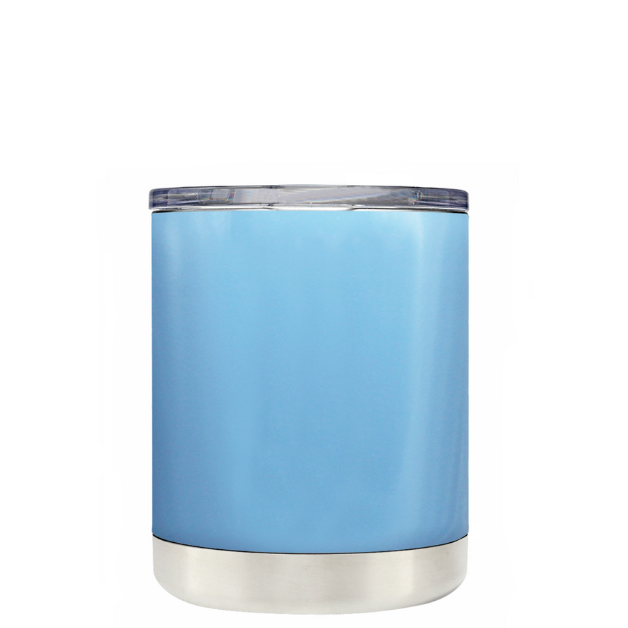 Custom TREK Pastel Blue 10 oz Design Your Own Tumbler