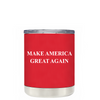 Make American Great Again - MAGA on Red 10 oz Lowball