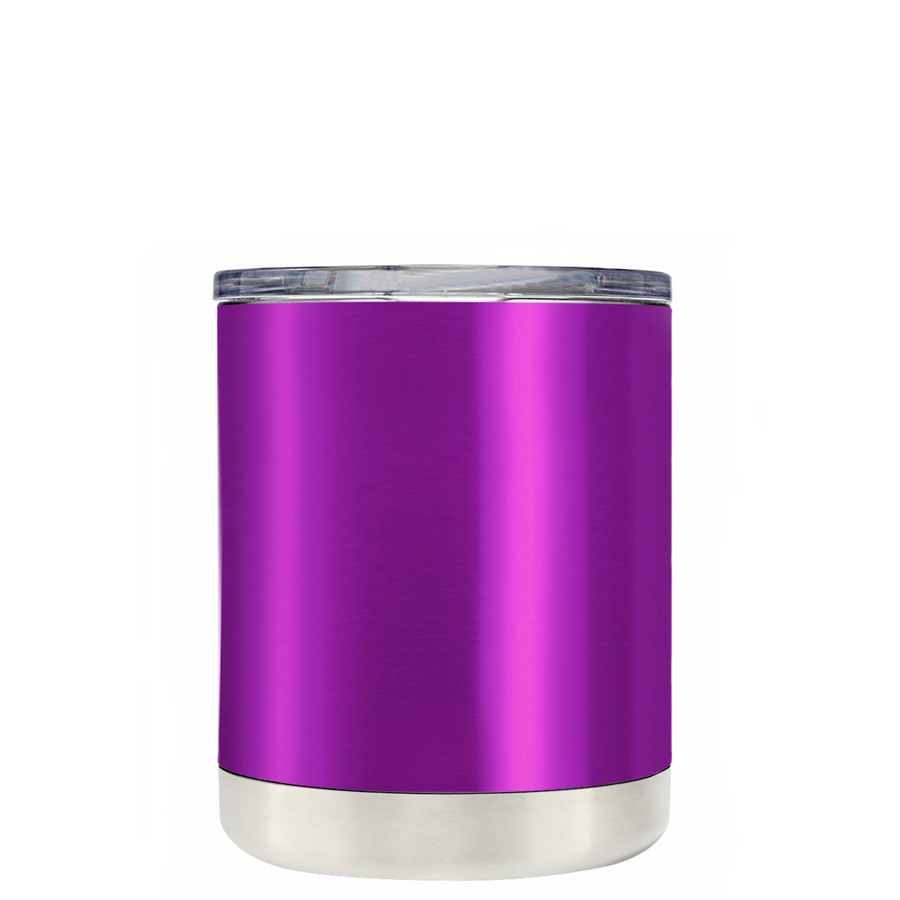 Custom TREK Violet Translucent 10 oz Design Your Own Tumbler