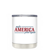 Make America Great Again on White 10 oz Lowball Tumbler