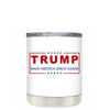 Trump Make America Great Again on White 10 oz Lowball Tumbler