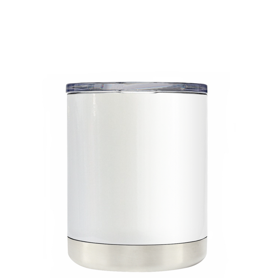 Custom TREK White Gloss 10 oz Design Your Own Tumbler