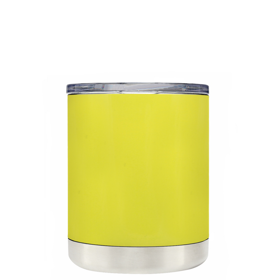 Custom TREK Yellow Gloss 10 oz Design Your Own Tumbler