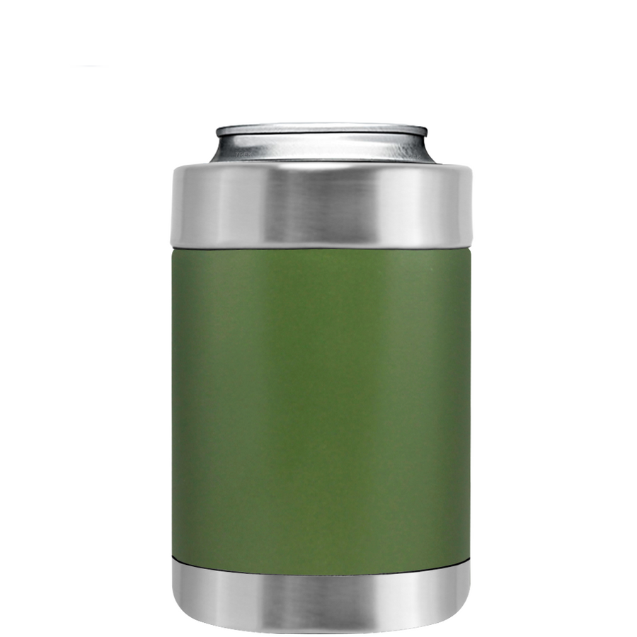 TREK Army Green Can and Bottle Cooler