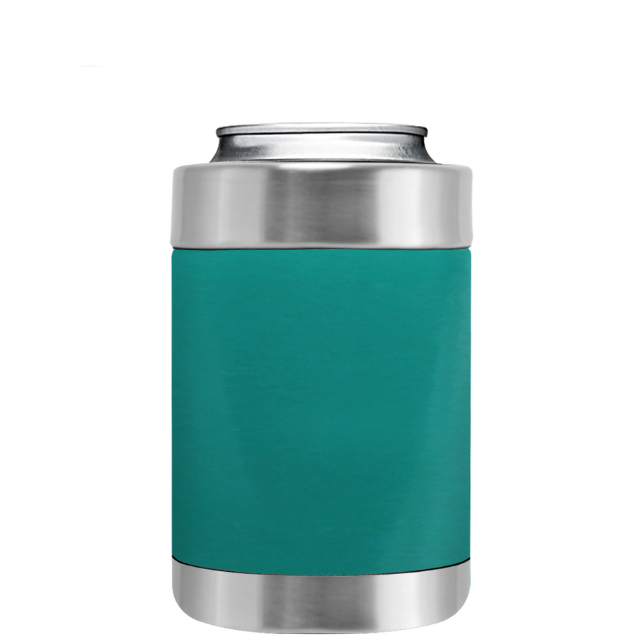 TREK Aqua Blue Can and Bottle Cooler