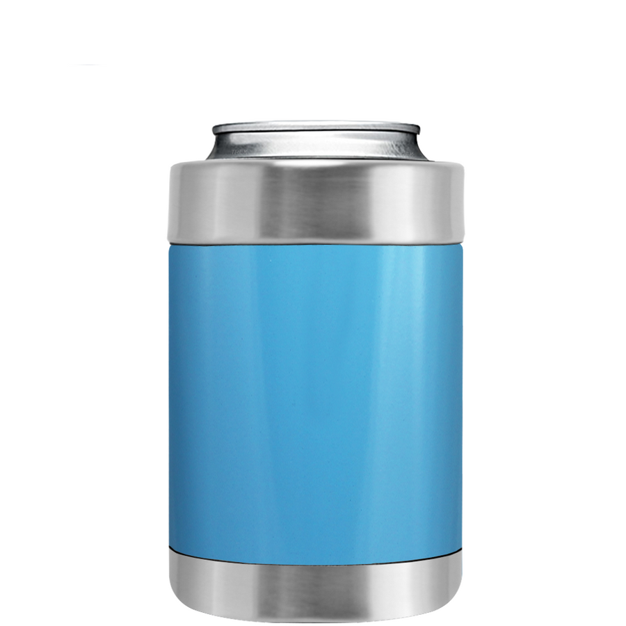 TREK Powder Blue Can and Bottle Cooler