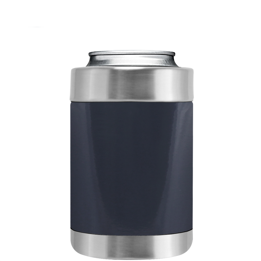 TREK Blue Grey Can and Bottle Cooler